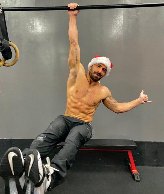 And the Xmas workout is done. Join my OF for a special Xmas welcome photo! I can just say...  It has