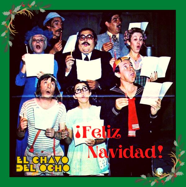 Hoy la Vecindad de El Chavo les quiere desear una...