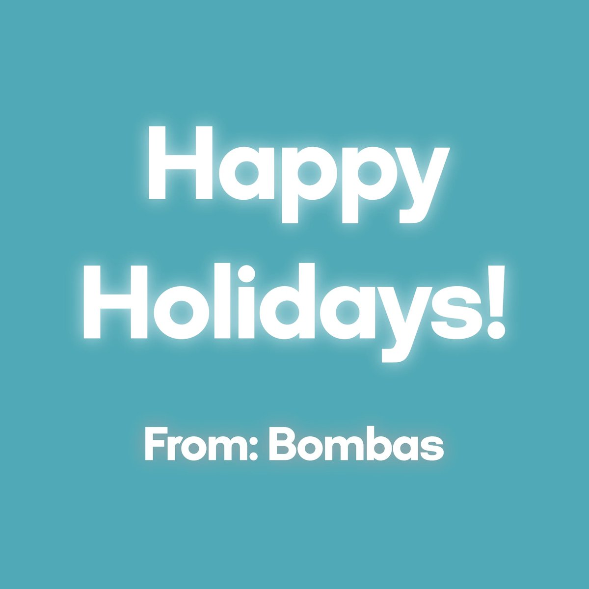 Merry Christmas from all Bombas elves, who work year-round to warm your mistle-toes.
