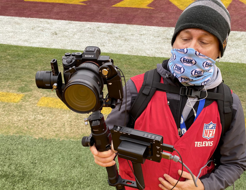 Fox Sports used a Sony A7R IV to give NFL broadcasts a cinematic look