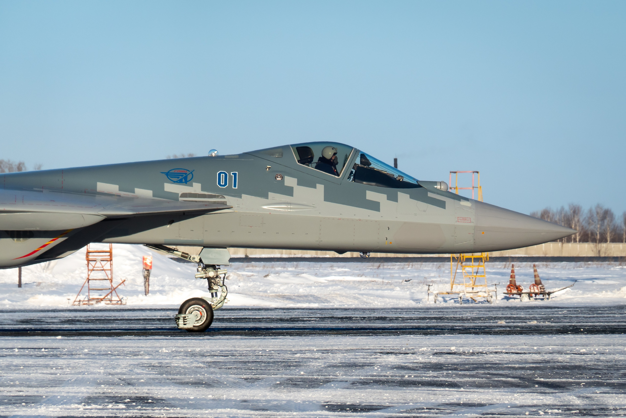 Su-57 Stealth Fighter: News #6 - Page 38 EqHGtiOU8AEkaM-?format=jpg&name=4096x4096