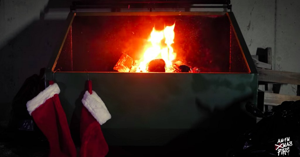 Chestnuts roasting on a dumpster fire: 16 extremely 2020 Yule Log videos