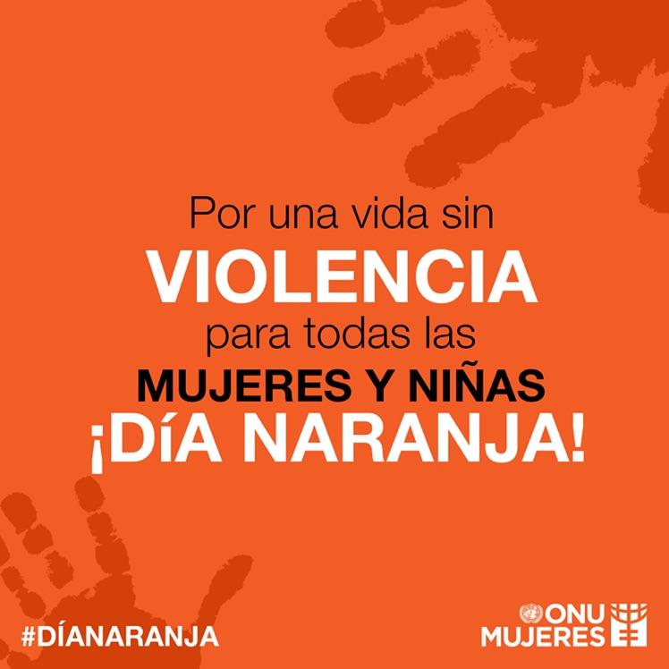 Una sociedad unida puede lograr grandes cambios. Apoya, difunde y pon el ejemplo. #DíaNaranja #NoALaViolencia