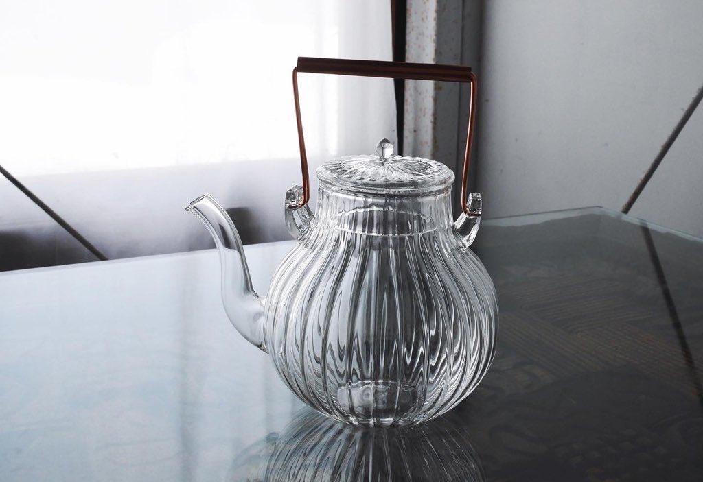 直火で使えるガラスポッドがおしゃれで便利で機能的!