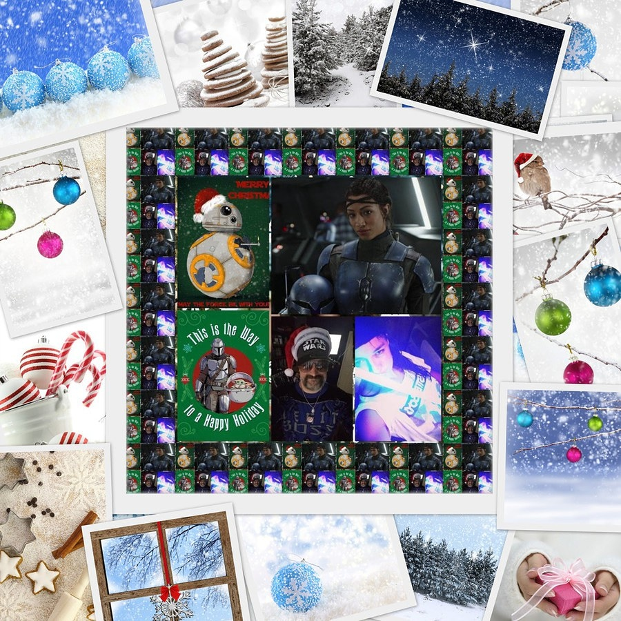 #GoodEvening #MerryChrismas #FridayNightBanks #Smackdown Shhhh #ItsBossTime #ThisIsTheWay y'all xoxo #Happy #Selfie #WrestlerLover #StarWarsFan #StarWarsFamily #StarWarsLover #KoskaReeves #SashaBanks #SashaKrew #LegitBoss #mrodfamily #mrodlover #StarWars4Life 😊😎🤶🎁🎅❄🎄💙💜❤
