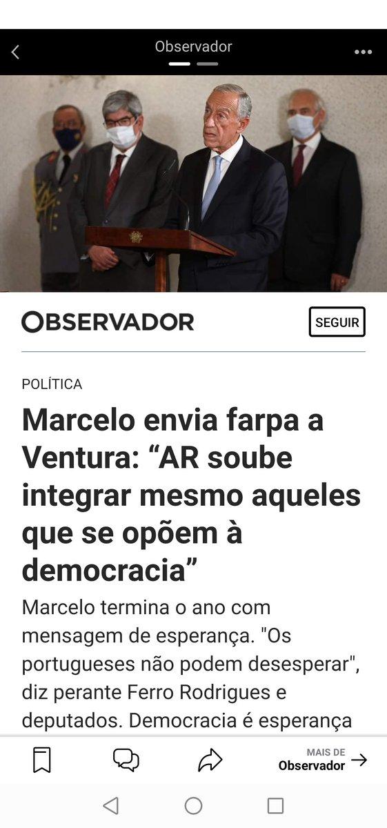 Gostava que Marcelo me dissesse isso não nas costas, mas no dia 6 de Janeiro, quando estivermos frente a frente no estúdio de televisão da SIC.