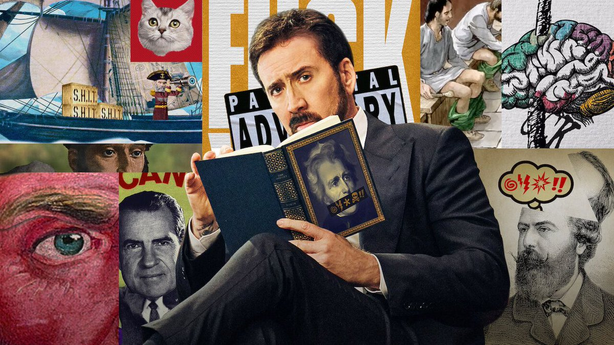 Watch Nicolas Cage shout expletives in History of Swear Words trailer