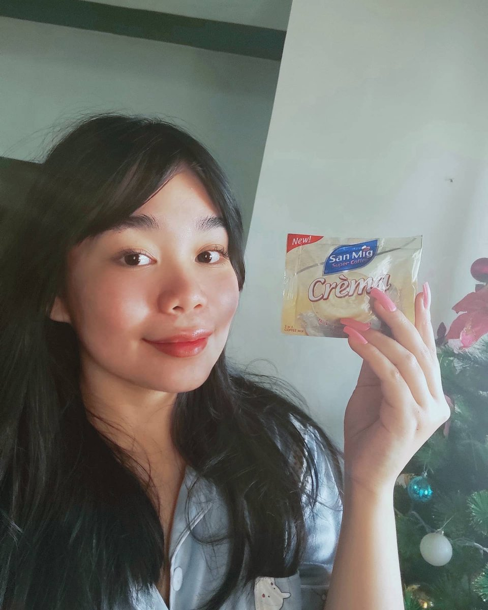 The thing which inspires me to get upquicklyis to have a sip of my favorite coffee na ngayon ay pina level up pa with San Mig Crema. I can say that coffee is the sourceofinspiration for me to do the things which I love to do every day. #LevelUpWithKathAndSanMigCrema