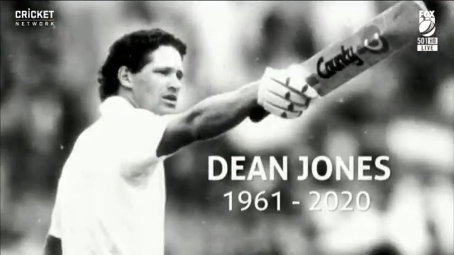 A lovely tribute for Dean Jones at his favourite MCG ❤️