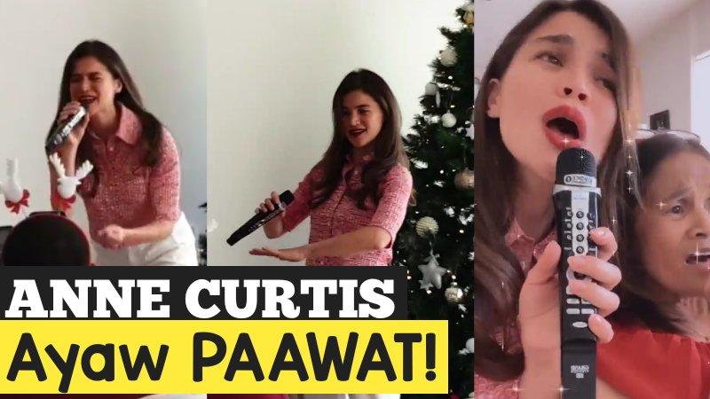 #AnneCurtis ANNE CURTIS AYAW PAAWAT | DI NAPIGILANG BUMIRIT at NAG-MINI CONCERT | CelebrityPH