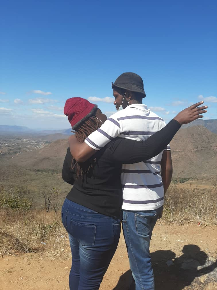Linda Msarira and lover picnic