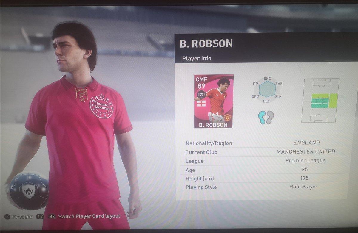 #PES2021 #eFootballPES2021 #MyClub #PESmas #officialpes #eFootballPoints #2ndicon #Robson #Rivaldo My 2nd Icon from eFootball Points joins the team 🔥  Welcome 🇧🇷 Rivaldo 🇧🇷 https://t.co/UuUQMTdB52
