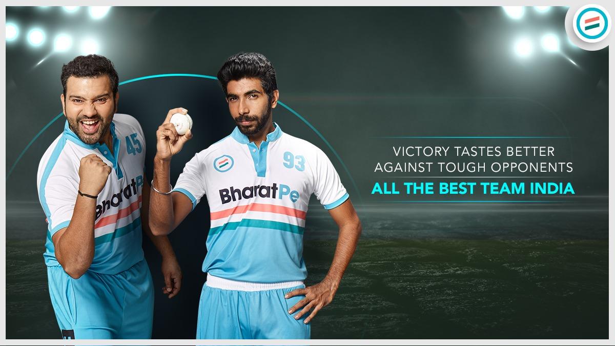 Wishing our Cricket Stars a fantastic victory. Keep cheering up.  #indiancricket #indiaaustralia #TeamBharatPe  #TeamBharatPe #indianteam #indiacricket #cricketstars #cricketfansindia #CricketSeason #cricketers #BusinessGrowth #businessbuddy #UPI #klrahul #shami #RohitSharma