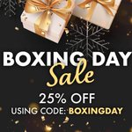 Image for the Tweet beginning: Our #BoxingDay sale is here🎁✨