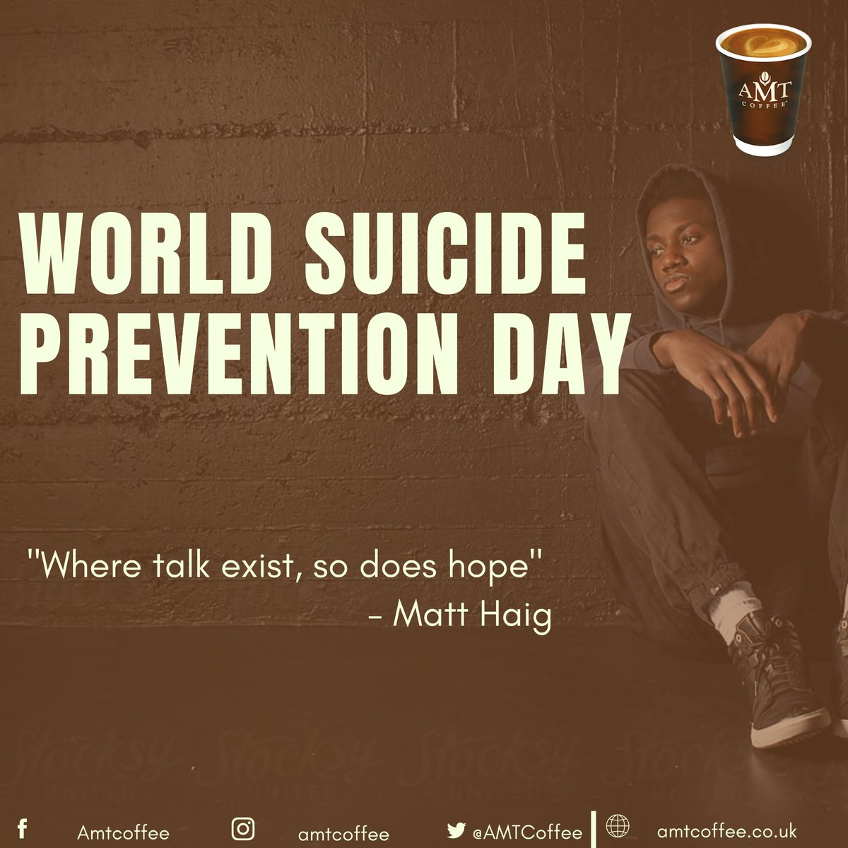 When you feel down, talk to someone. Never ever give up #worldsuicidepreventionday #coffee #coffeetime #coffeelover #cafe #coffeeshop #AMTcoffee #coffeeaddict #espresso #food #love #barista #kopi #coffeelovers