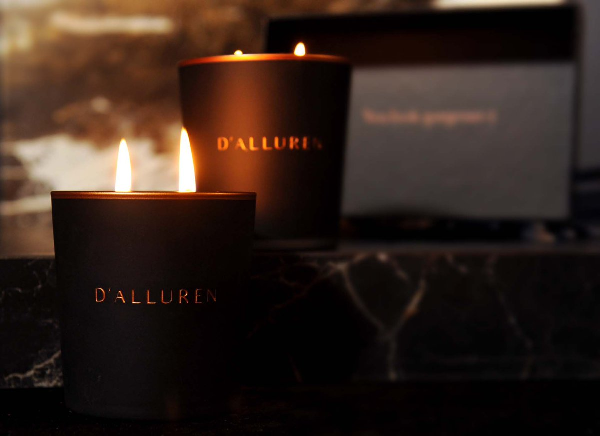 D'alluren 💫 #Candlesticks #candle #candlelight #candleday #candlelightdinner #CandleLighting #scentedcandle #scented