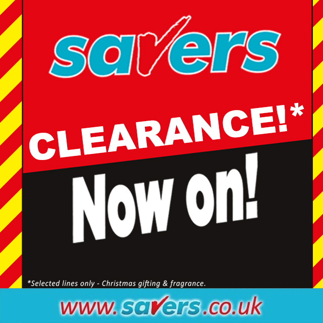 Savers Clearance now on! Pick up some amazing bargains on gifting and cosmetics here:
