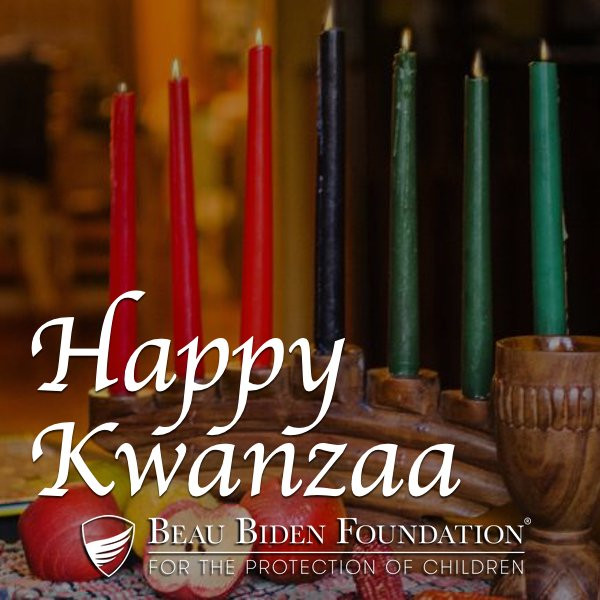 From Umoja to Imani, may all the blessings of #Kwanzaa be yours.