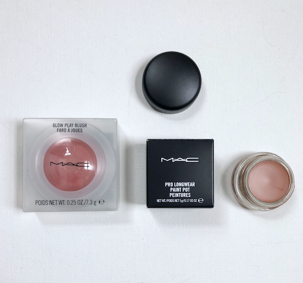 """I'm giving away MAC Glow Play Blush + Pro Longwear Paint Pot in """"groundwork"""". Two great products. To enter, RT & follow @davelackie"""