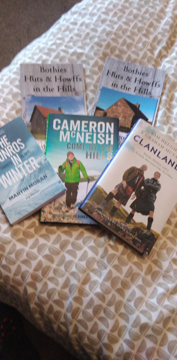 Should see me through the next couple of weeks...... @CameronMcNeish @SamHeughan
