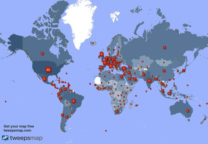 Special thank you to my 764 new followers from USA, Colombia, Brazil, and more last week. https://t.co/61O21jzJ1V