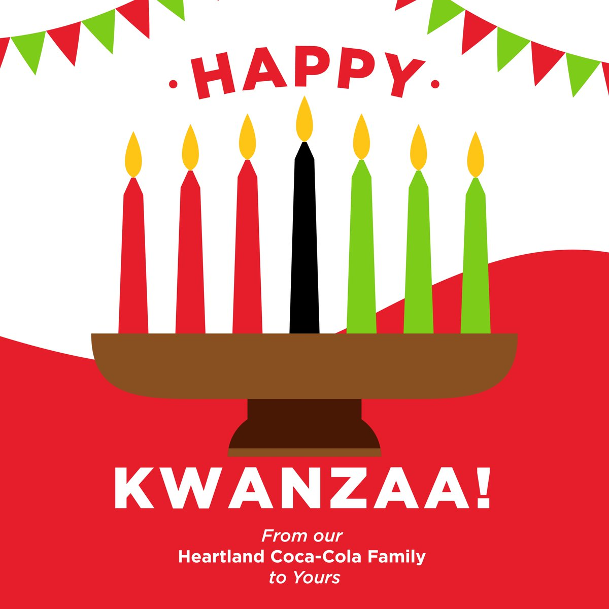 Wishing everyone a Happy Kwanzaa! We hope these next seven days bring you time to enjoy the blessings of family, community, and togetherness. #happykwanzaa