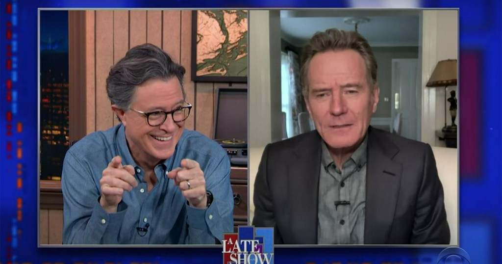 'Late Show' outtakes prove celebs are just as awkward on Zoom as you are