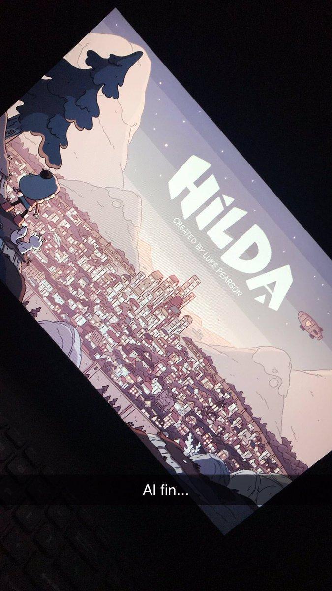 Mi felicidad decembrina empezó desde hace semanas con el regreso de @hildatheseries mi sábado como el pasado empezó con una carga de episodios de #HildaSeason2 y un buen plato de cereal #TheAdventureContinues #LasMañanasDeSábadoSonParaCaricaturasYCereal  SNPCHT: xhab9300