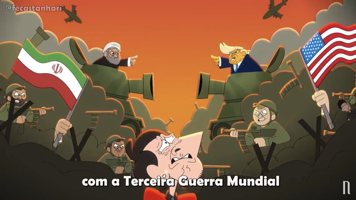 Replying to @seaforPogues: Gente a RETROSPECTIVA ANIMADA 2020 do @FeCastanhari ta muito boa!