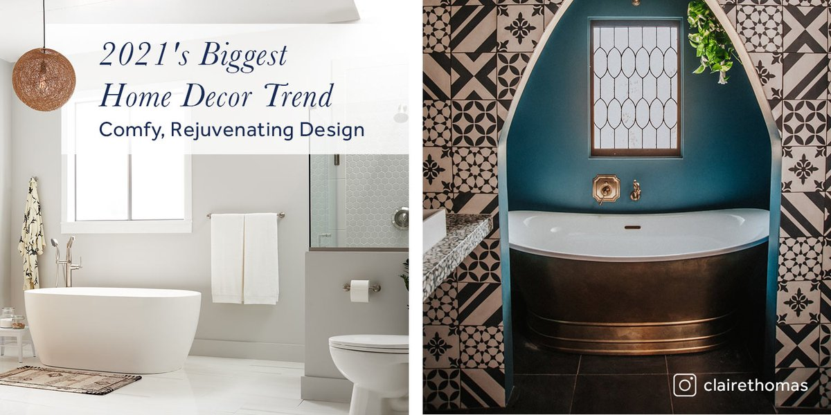 We are excited to share what is trending in interior design this coming year. Here is what to look out for in 2021: https://t.co/77HdGN73po #homedesign #newyearnewhome #kitchen #bathroom #inspo #renovation https://t.co/RuTHWGbdgR