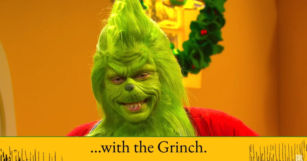 Merry Christmas, Pete Davidson played a sexy swinging Grinch on 'SNL'