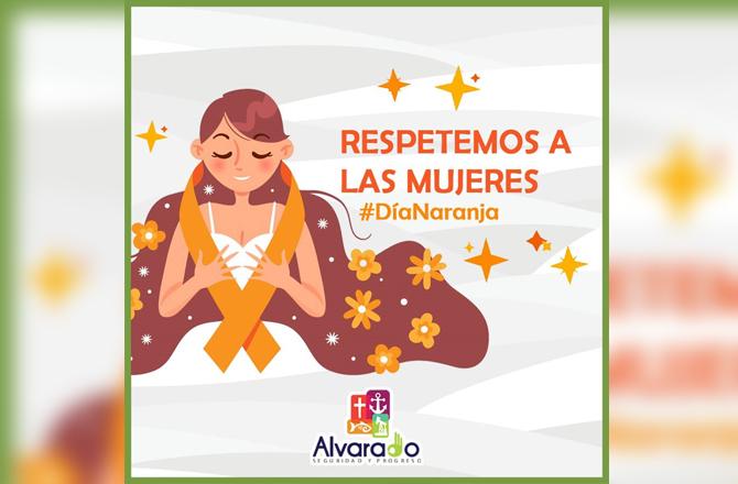 Así conmemoró Alvarado el Día Naranja  #Alvarado #DíaNaranja @ruiz_bogar