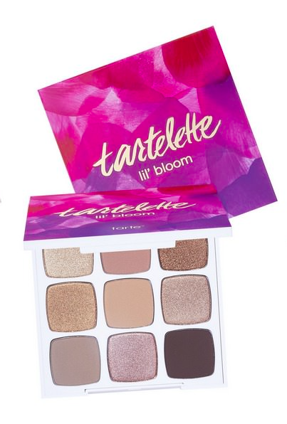 Today's luxe makeup giveaway is tarte's tartlette lil' bloom eyeshadow palette in beautiful bronzed chopper & champagne shades. (at sephora) To enter, follow @davelackie & RT (ends 20/01)