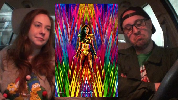 #WonderWoman1984 is now available on both HBO Max and Theaters.  Watch Brad and Laura's review of this