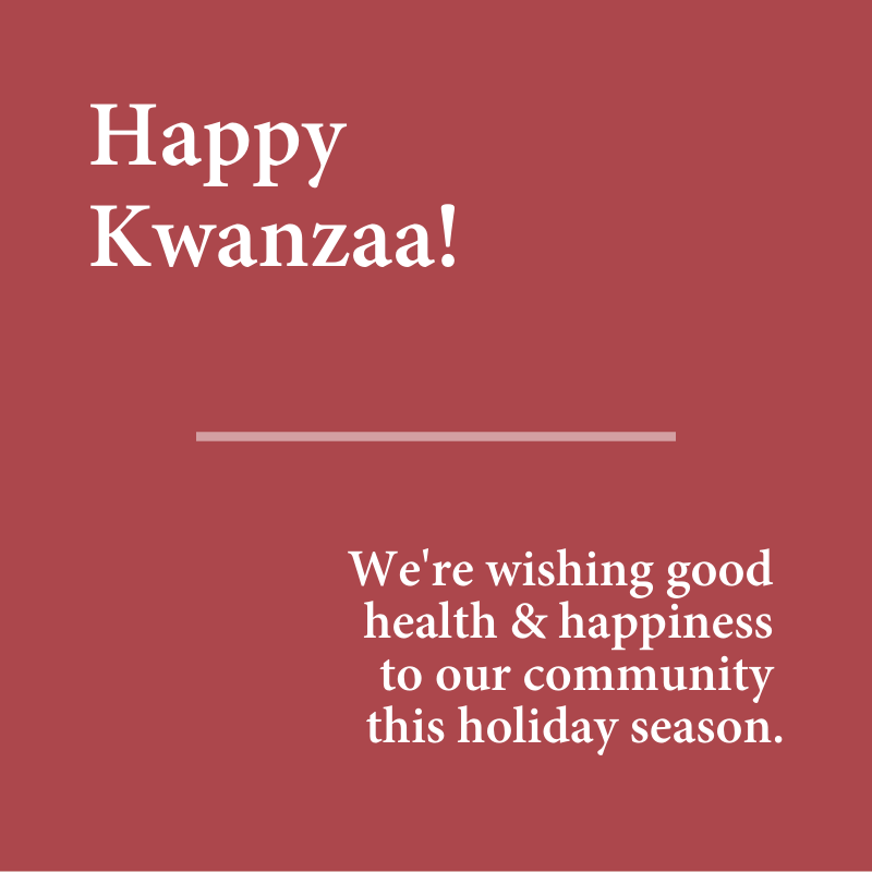 From our Habitat family to yours, Happy Kwanzaa!  We wish good health and happiness to everyone in our Habitat family this holiday season! To our volunteers, Habitat homeowners, supporters, and partners - we hope that you feel joy & warmth. https://t.co/M9IQtZWKE9