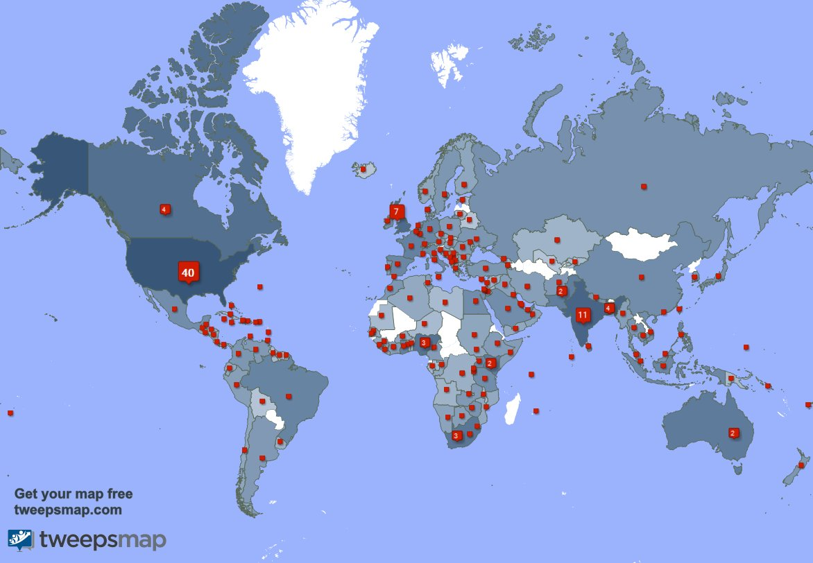 I have 177 new followers from USA 🇺🇸, Canada 🇨🇦, Thailand 🇹🇭, and more last week. See