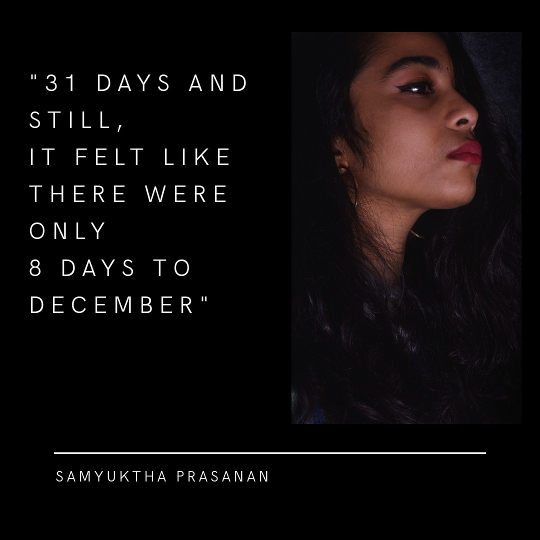 This winter had me on a creative drive and this book will be a result of that!  Presenting to you an excerpt from '8 Days to December'  #debutbook #writerscommunity #readers #newreleases #December #darkpoet #poets