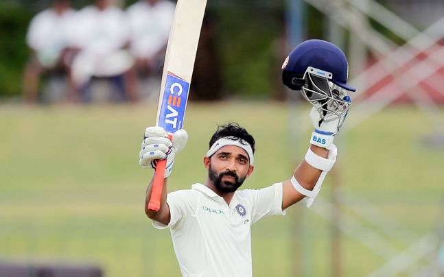 @virendersehwag @ajinkyarahane88 What an an innings Brilliant hundred by @ajinkyarahane88 . Determination and class.