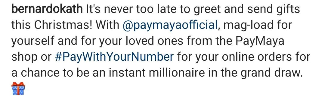 #DontPayCashPayMaya