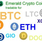 Image for the Tweet beginning: #EmeraldCrypto the green #Pennystock of