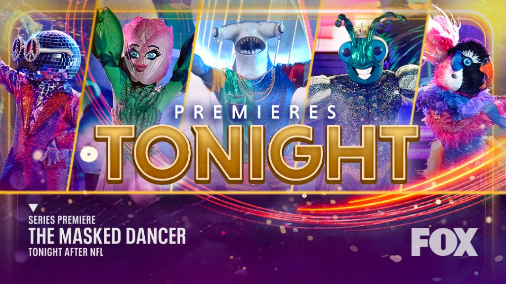The spotlight is on our masked dancers. 🤩  RT if you're watching #TheMaskedDancer series premiere tonight after NFL!