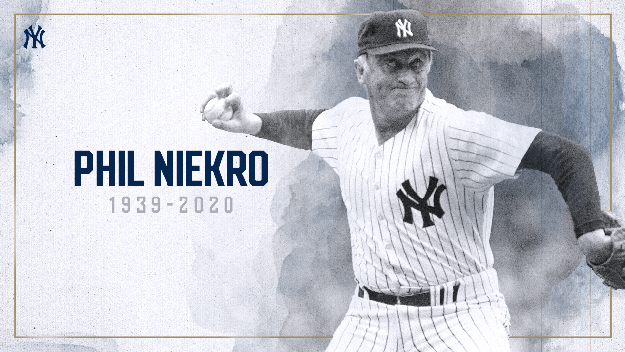 Hall of Famer, former Yankees pitcher Phil Niekro dies at age 81