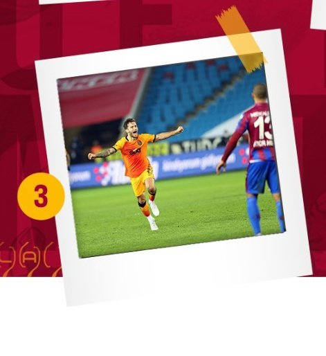 @GalatasaraySK 3️⃣ #TSvGS #Galatasaray  🦁💛❤️ @CglynOgulcan