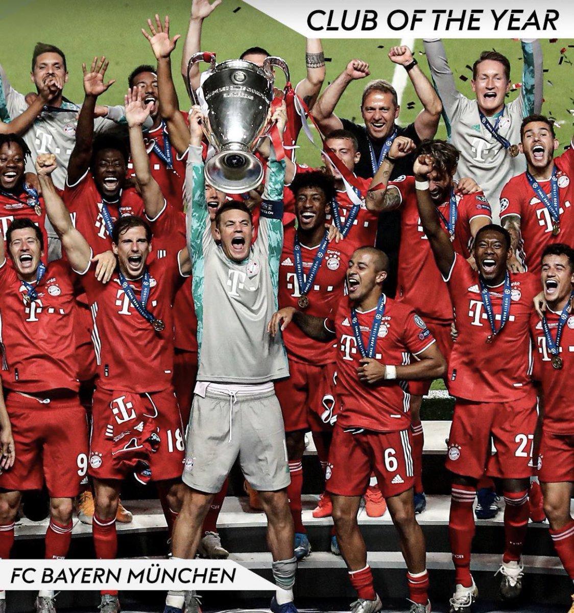 En los Globe Soccer Awards: Bayern München es el mejor equipo del año y Real Madrid el mejor equipo del siglo