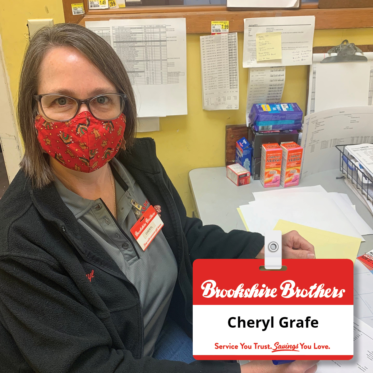 Our unsung hero! Though she is behind the scenes DSD Manager Cheryl Grafe has been consistently providing superior customer... Read more: brookshirebrothers.com/employee-kudos… #Congratulations #ShoutoutSunday #EmployeeRecognition #BBPartner #EmployeeOwned #YourCommunityGrocerSince1921