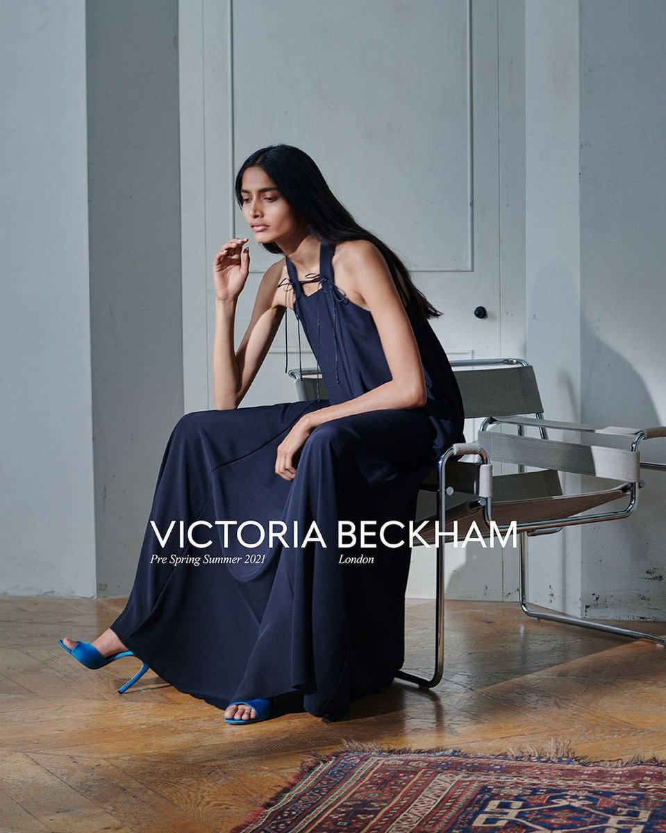 Victoria Beckham Make an effort for the people you *can* see  #VBPSS21