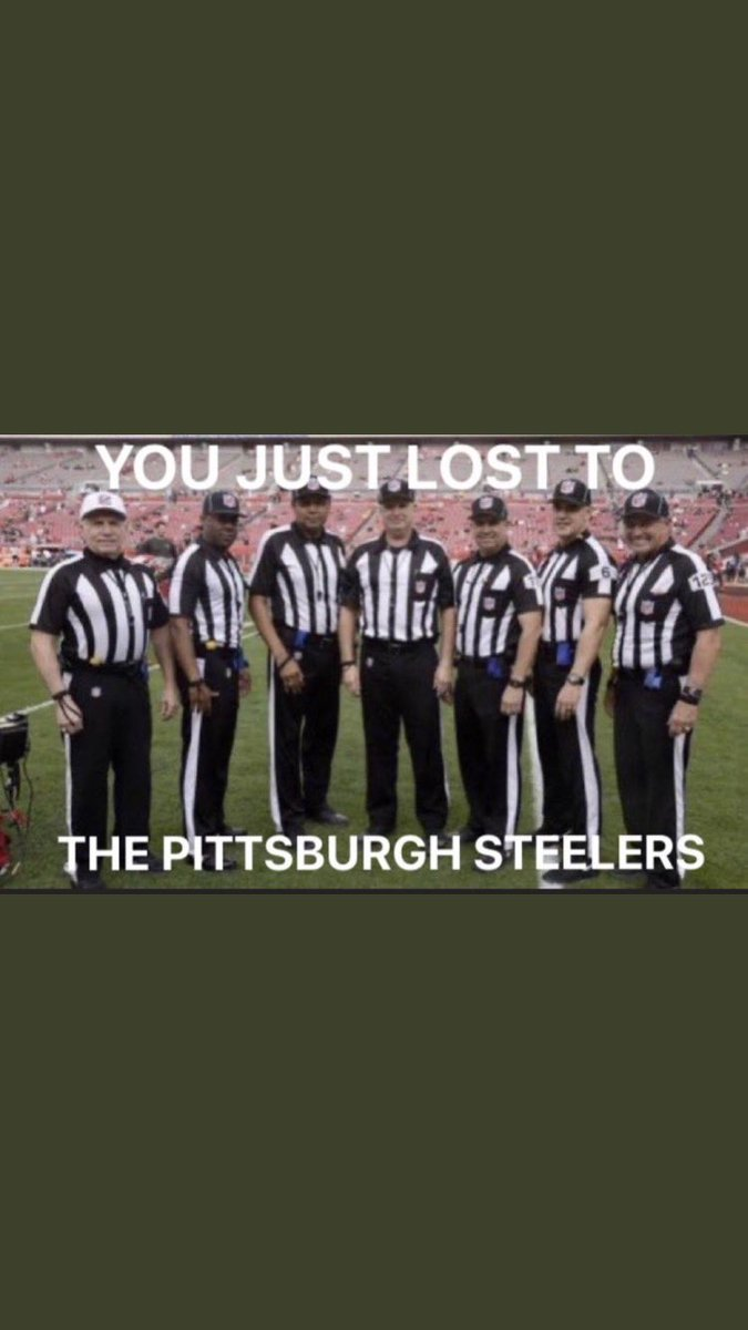 That officiating rivaled Brady #INDvsPIT
