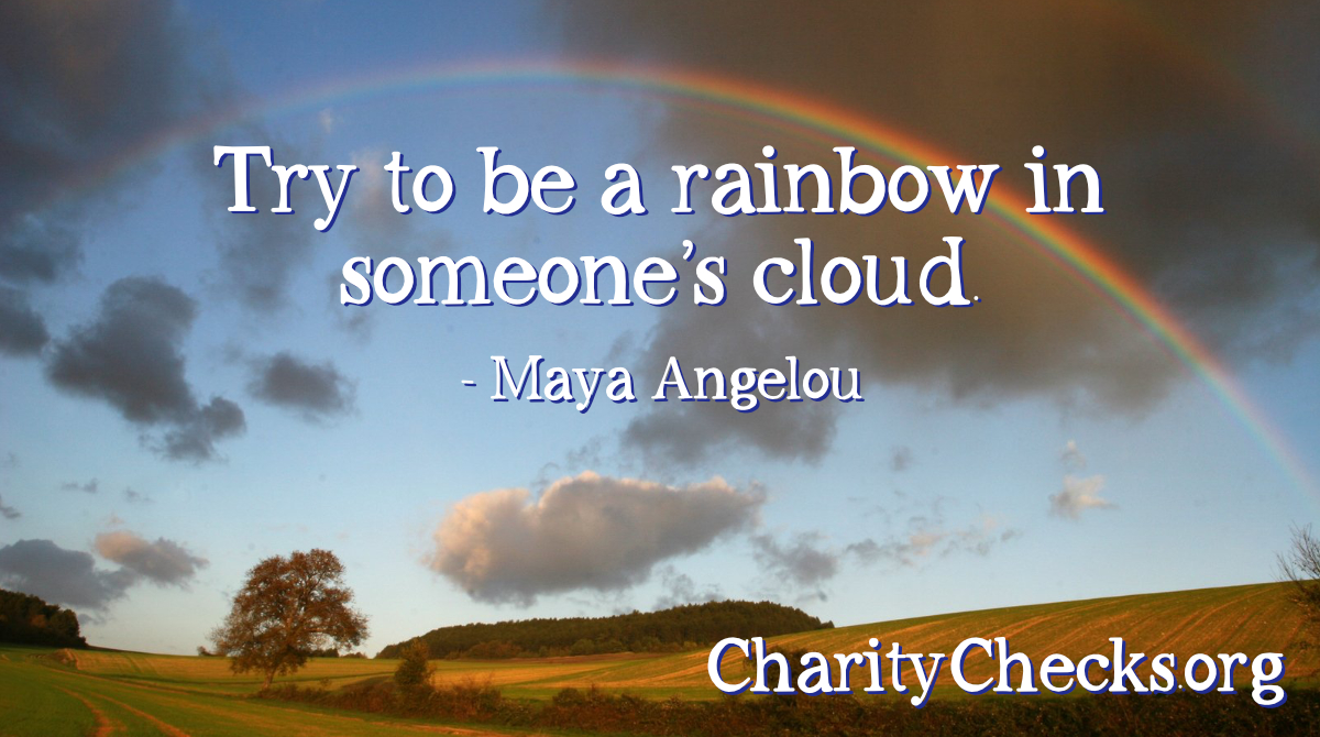 Spread light and joy by giving Charity Checks to your favorite charity. You can purchase them in 2020, get the tax deduction, and give them away in 2021. Learn more at  #charitablegiving #taxdeduction #RedefineGifting #greatquotes #give #nonprofit