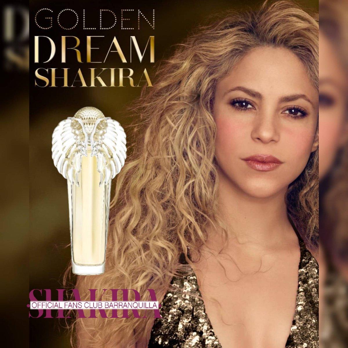 .@Shakira nos regala su última fragancia para cerrar este 2020, #GoldenDream by #Shakira 🤩 #ShakiraPerfumes 🎁
