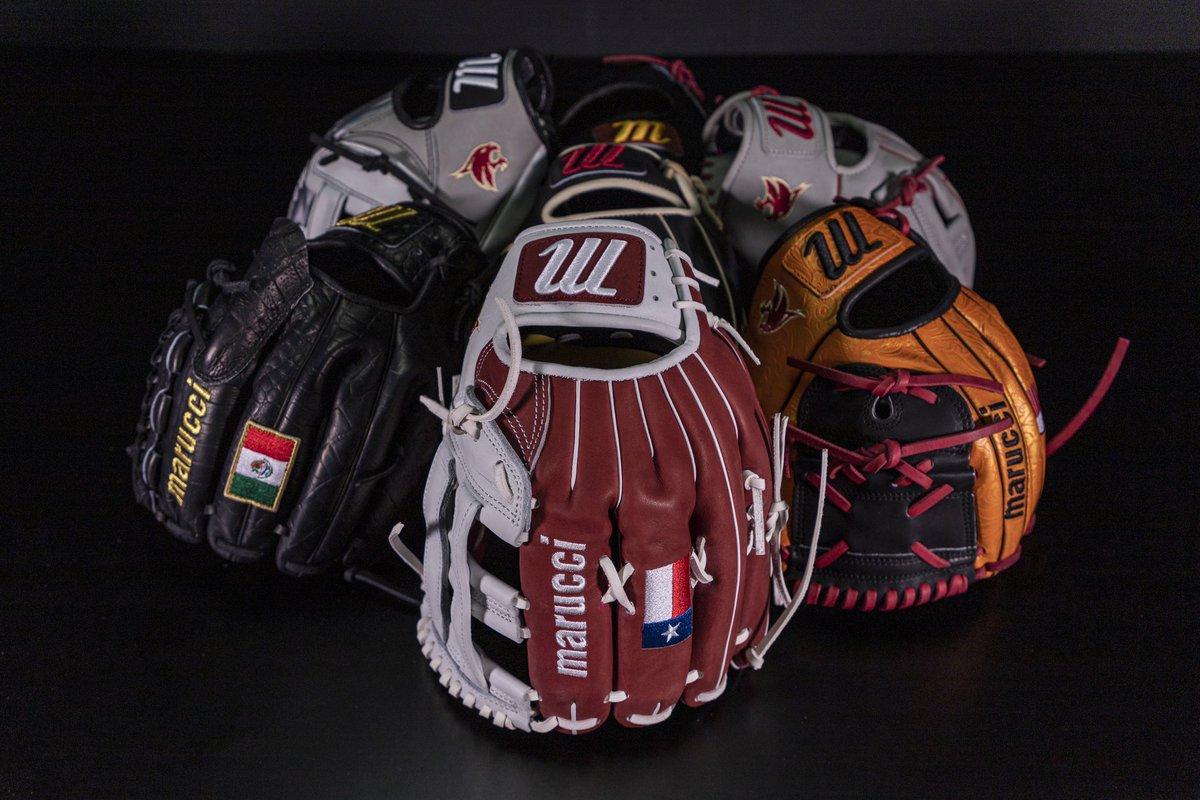 Looks like @TxStateBaseball is feeling the limited leather 😏🔥